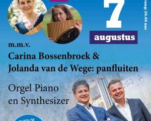 Carina Bossenbroek en Jolande van der Wege samen met Duo 4 handen