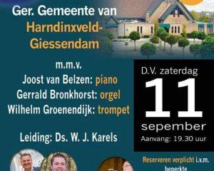 Hollands Jongerenkoor 11 geeft openingsconcert in de Ger. Gem. van Hardinxveld-Giessendam