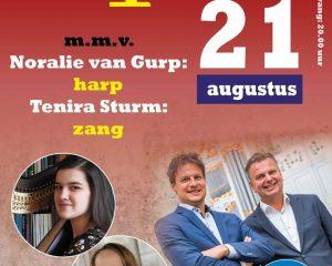 Noralie van Gurp en Duo 4 handen in de Koorkerk van Middelburg