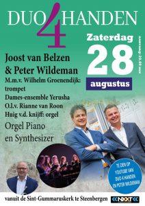Sint Gummaruskerk te Steenbergen met Duo 4 handen