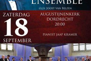 Augustijnenkerk te Dordrecht met het Hollands Mannenensemble