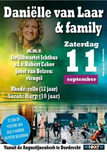 Daniëlle van Laar en Family online concert Duo 4 handen
