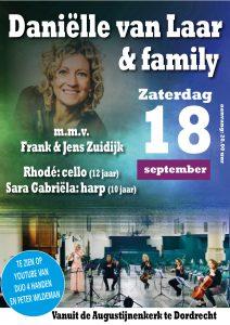 Danielle van Laar en family vanuit de Augustijnenkerk