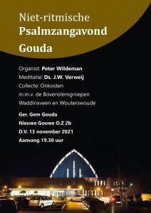 Gereformeerde Gemeente te Gouda niet ritmische psalmzangavond