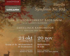 Grote kerk te Oudewater met Symfonieorkest Sjosjanim en Sweelinck Kamerkoor