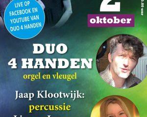 Jaap Klootwijk en Lianne Laurens met Duo 4 handen