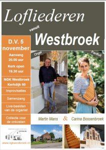 Lofliederen vanuit Westbroek met Martin en Carina
