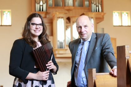 Uniek dubbelconcert orgel & panfluit in Terschuur